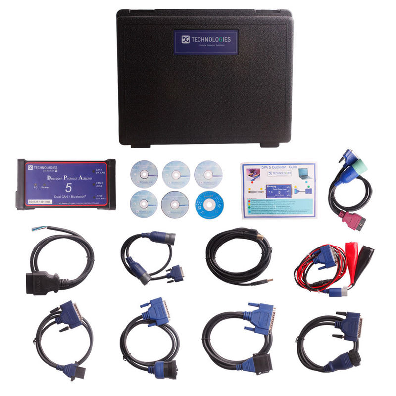 Heavy Duty Truck Diagnostic Tool , Dearborn Protocol Adapter 5 Diesel Engines
